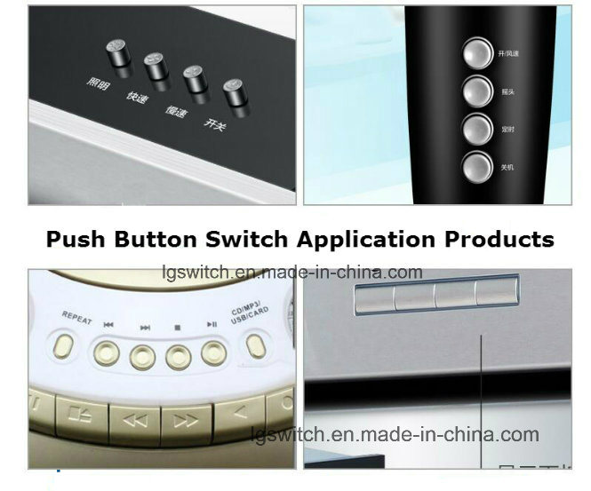 UL TV5 Power Push Button Switch