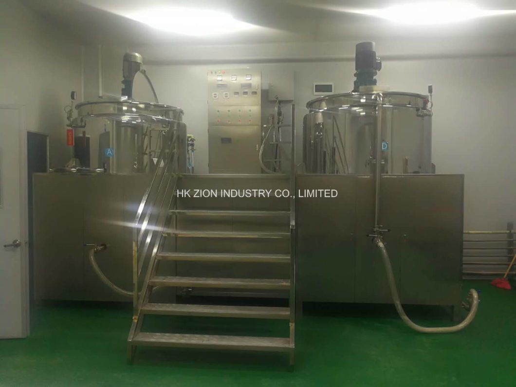 316 Stainless Steel Mixing Tank for Pharma Pharmaceutical Industry