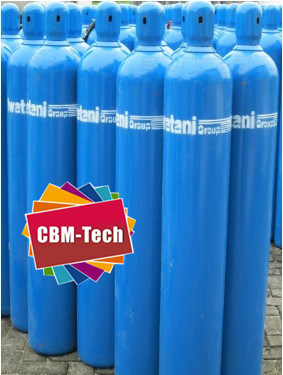 China Factory 10L Steel Oxygen Cylinders for Medical O2 Uses