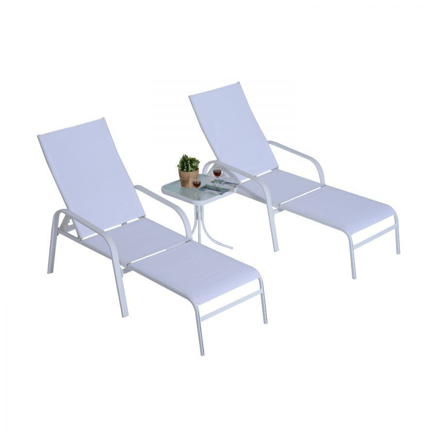 - China Promotions Hotel Outdoor Patio Leisure Chaise Lounge Set