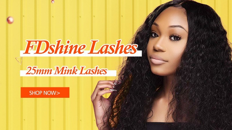 Fdshine Wholesale 5D Mink 25mm Lashes Pink Glitter Custom Box