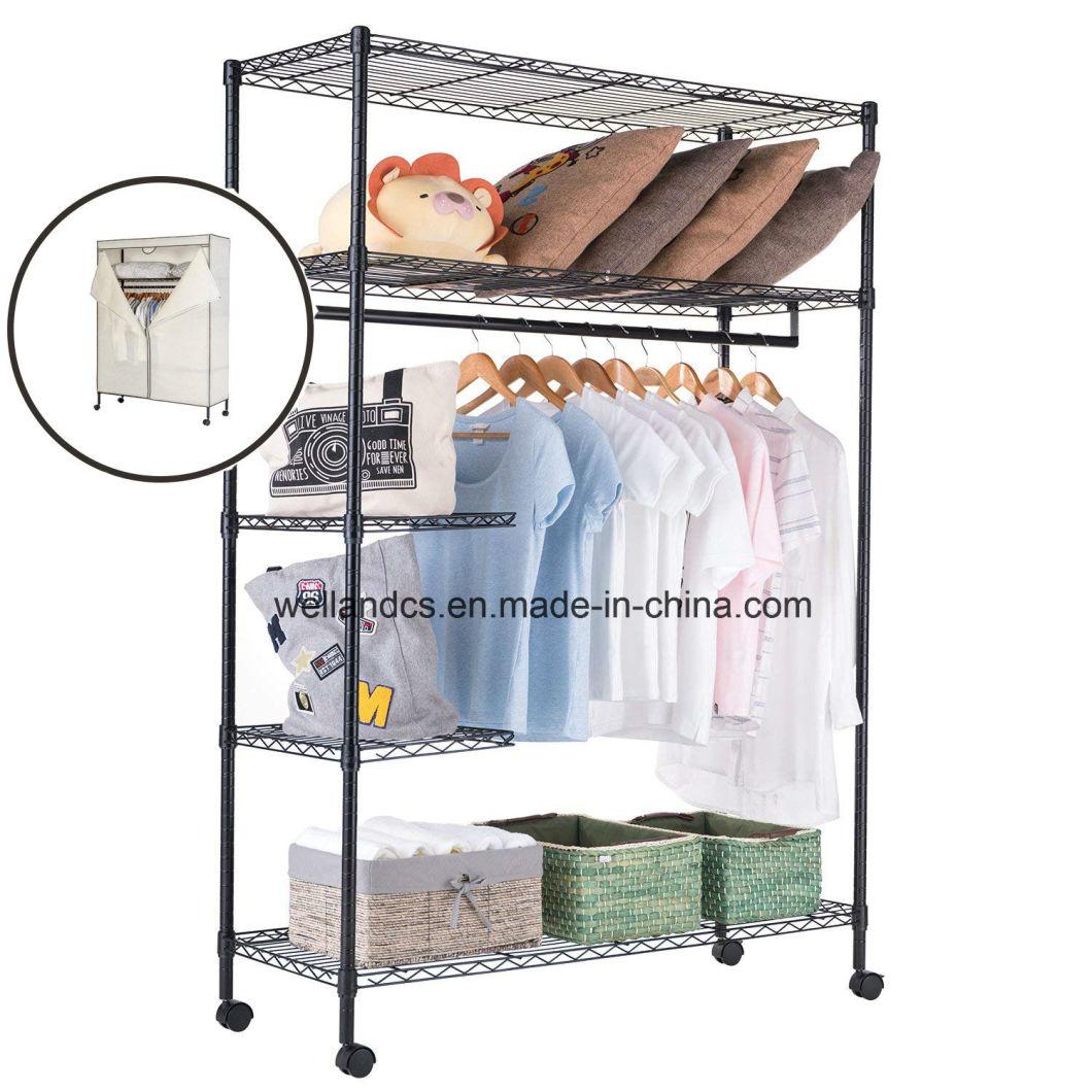 Diy Metal Closet Storage Organizer