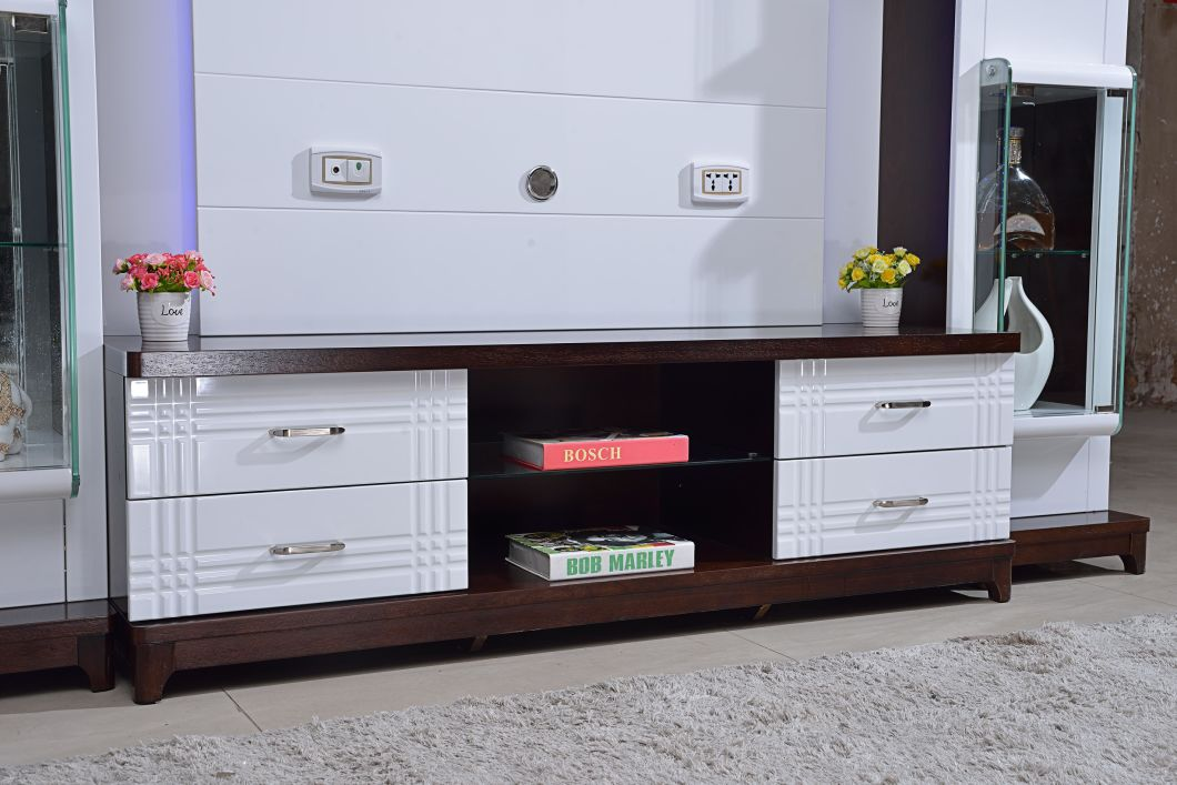 China Living Room Furniture Simple Tv