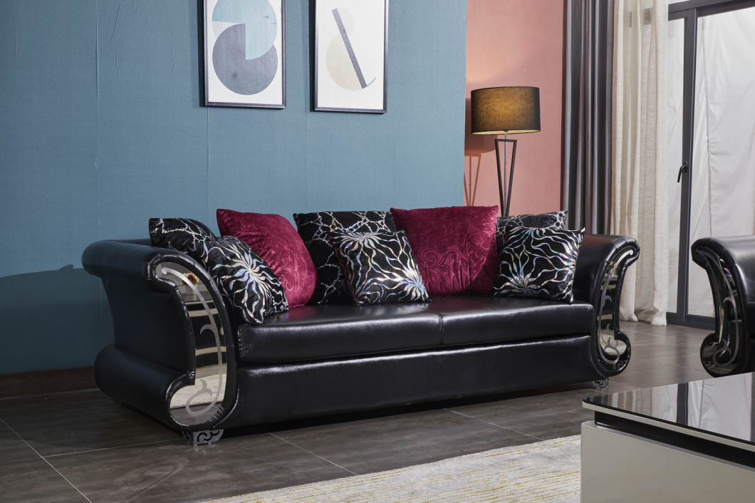 Sofas Modern Luxurious With Top Leather