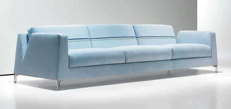 Luxury Public Office Pu Leather Sofa
