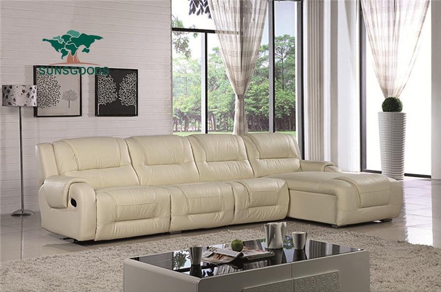 Modern Small L Shape Sofa Set Design