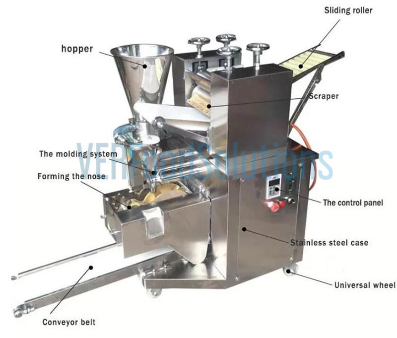 Electric Big Size Automatic Pot Sticker Making Machine