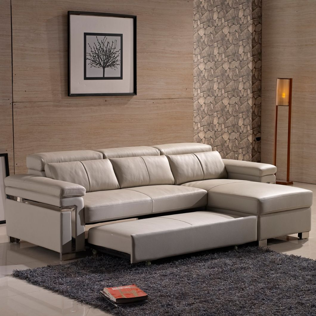Lesso Home Leather Sofa Bed With