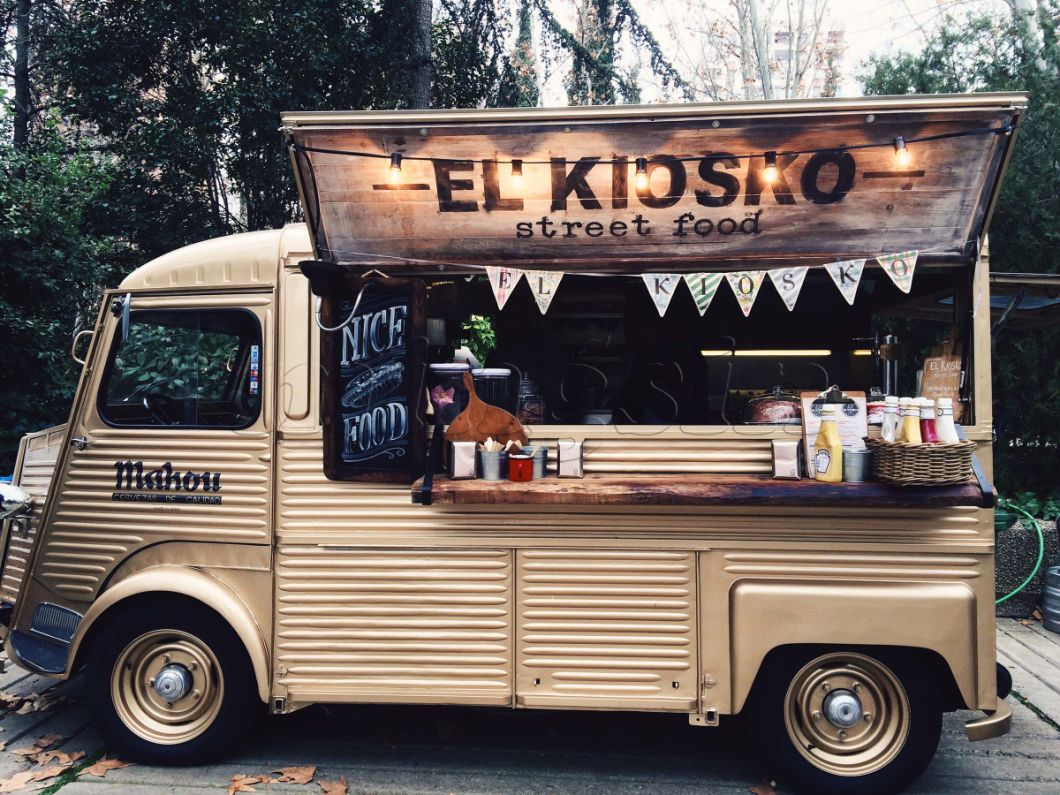 Excellent Performance Electric Kitchen Food Truck With High