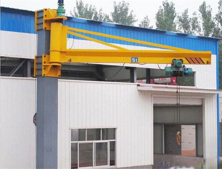 Wall Type Slewing Cantilever Crane