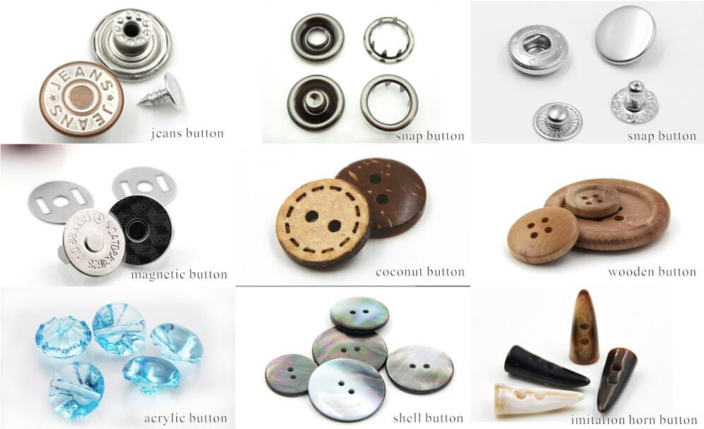 LG Fashion Garment Snap Clip Button for Clothing