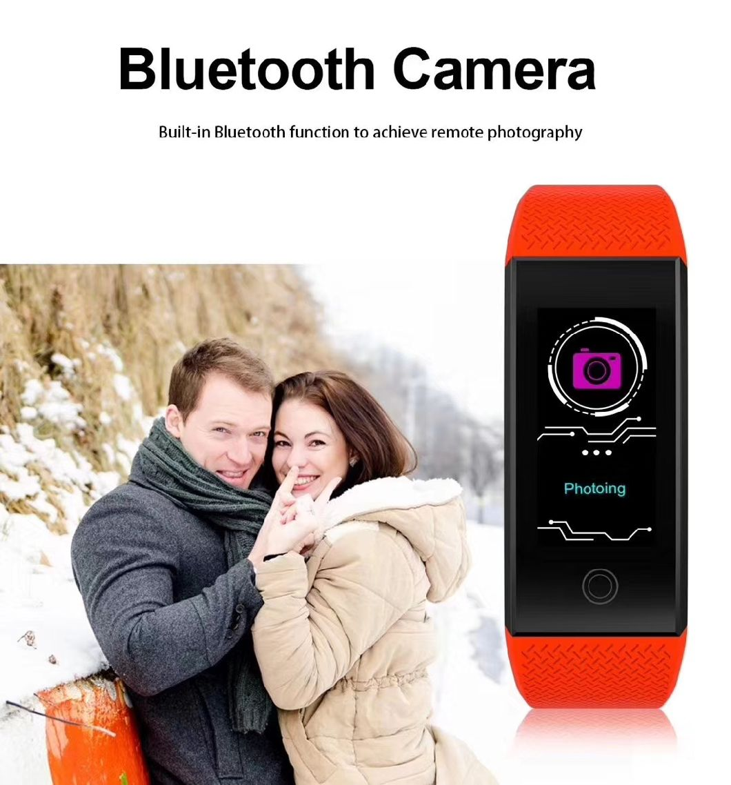 Qw18 Smartwatch 2018 Fitness Bracelet Blood Pressure Heart Rate Monitor Wristband Pedometer Swim Tracker Smart Watch IP68