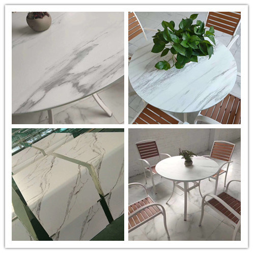 Ceramic Glass Temperable for Outdoor Furniture Table Garden Glass Table