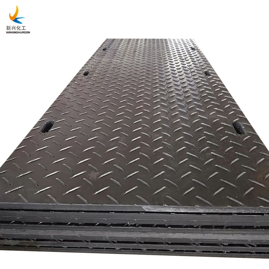 China Hdpe Ground Protection Mats 4x8 Ft Construction Road Plate