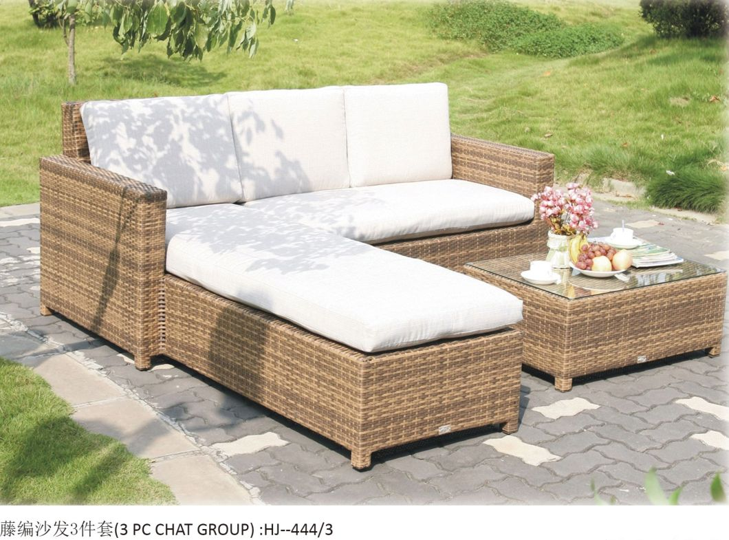 China Modern Style Outdoor Rattan Sofa