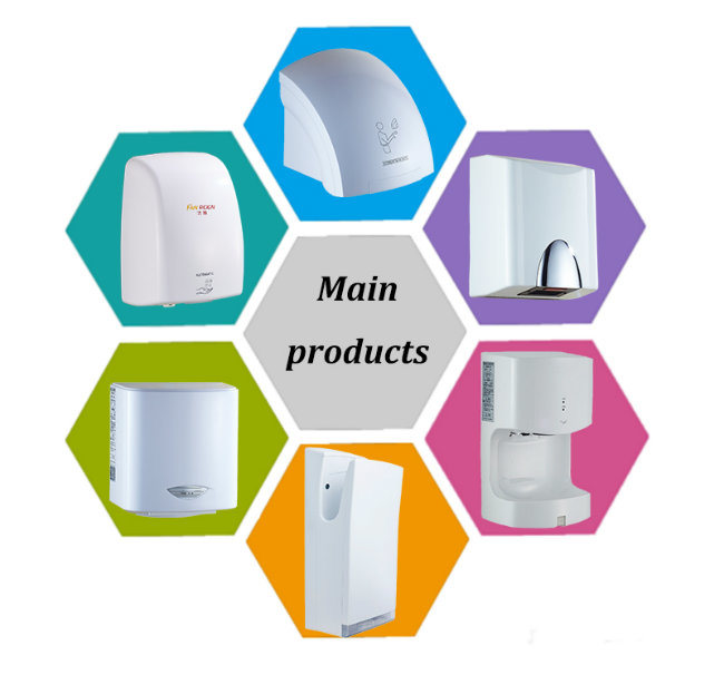High Efficiency Warm Air Touchless Hand Dryers Suppliers