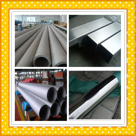 Asmt A312 A213 Stainless Steel Tube / Stainless Steel Pipe