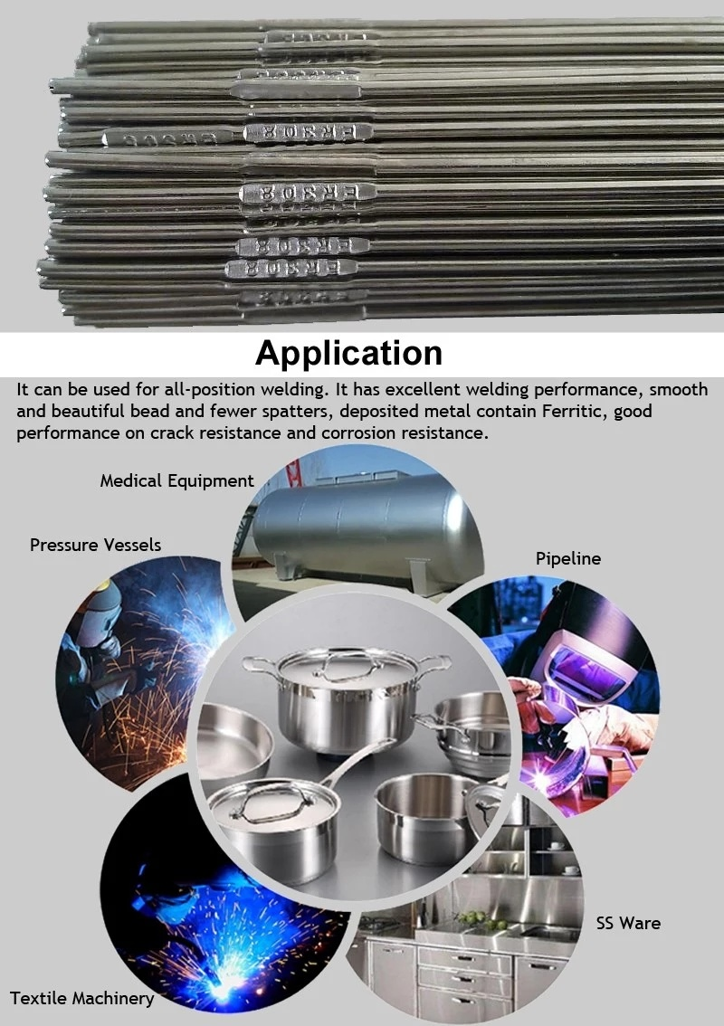 Ware stainless welding electrodes