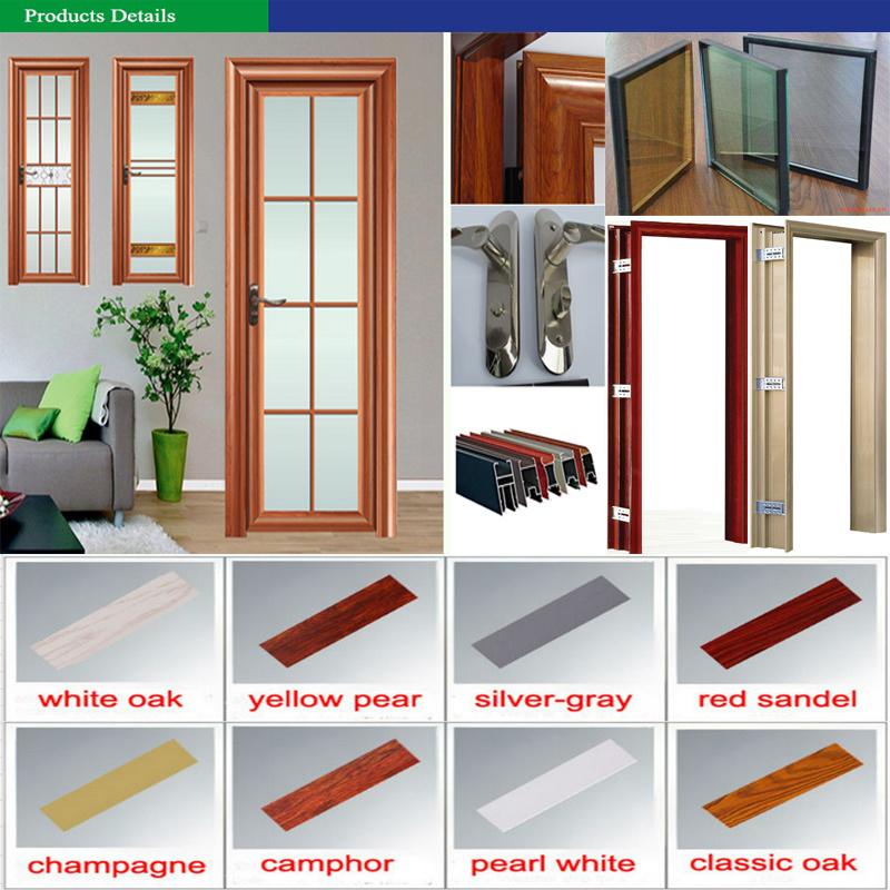 China Aluminum Bathroom Glass Door Prices Philippines