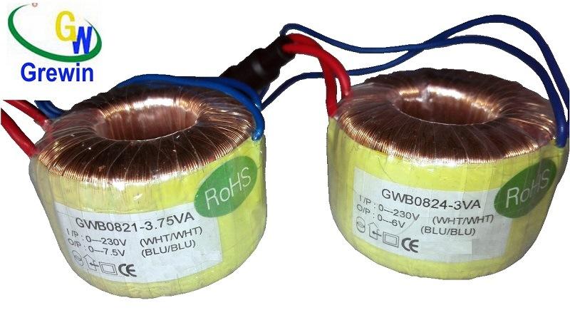 Power Inverter Small Toroidal Transformer for Solar Energy