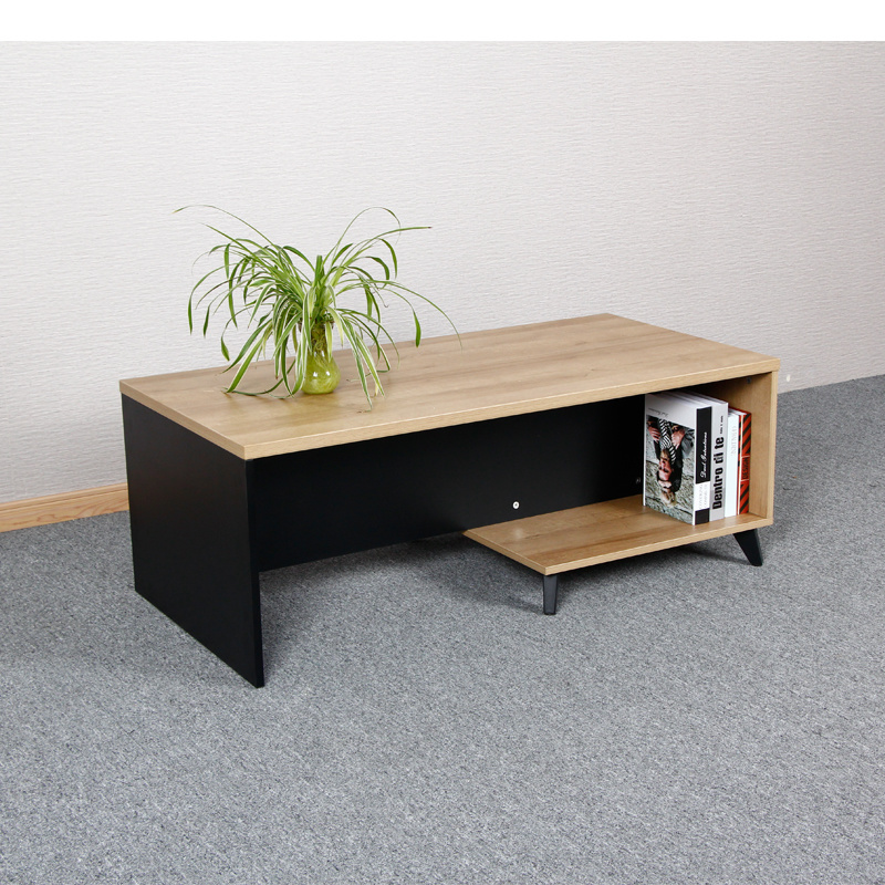 Square Small Design Wooden Coffee Table