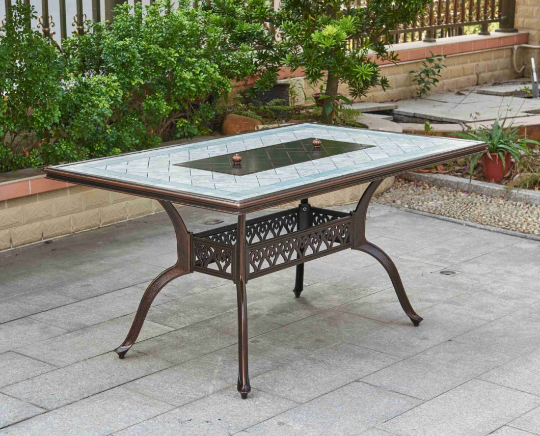 Cast Aluminium Outdoor Patio Furniture