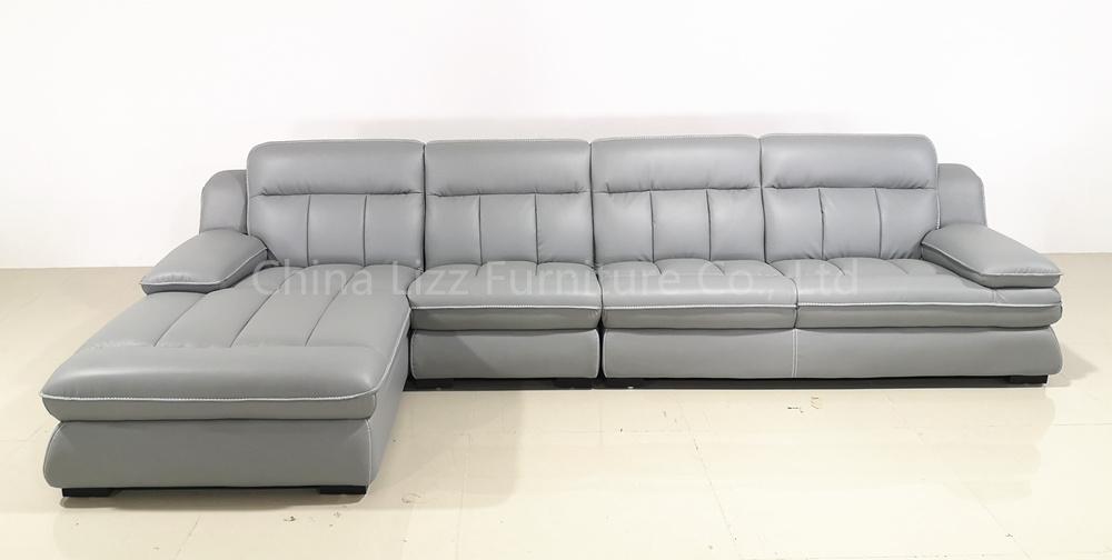 Sectional Corner Leather Sofa