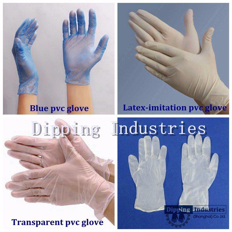 Polyvinyl Chloride Glove Dipping Machine