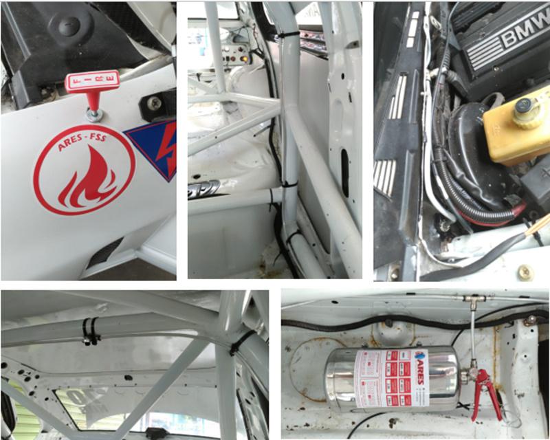 4.25L Mobil Balap Manual Afff3% Foam Fire Extinguishers Dari Pabrikan