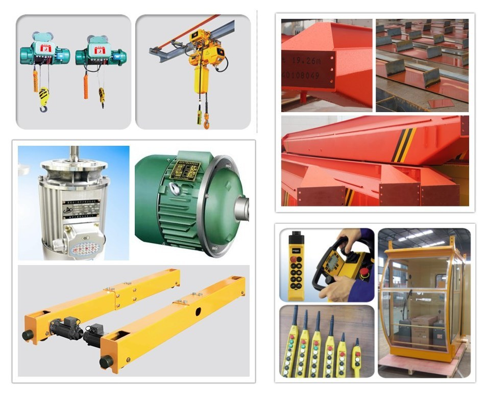 LX Electric Single Beam Bridge Crane / Suspension Crane
