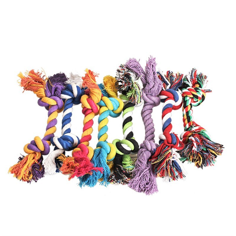 Cotton Rope Dog Toy Plush Handmade Pet Chew Toy Pet Product