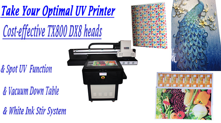 c425b082 Dosign Digital Flatbed 60*90 UV Printer with Factory Price - WER Printer