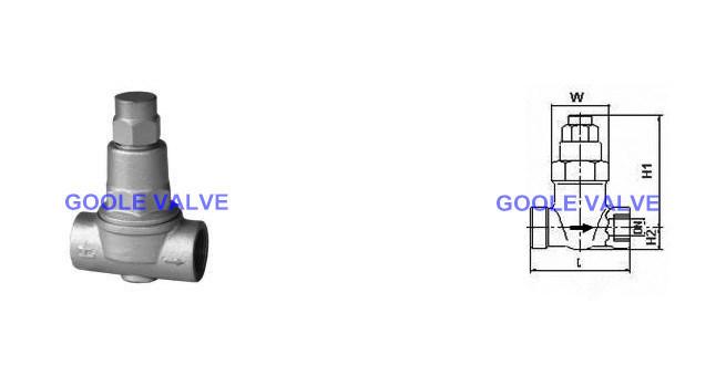 Thermostatic Adjustable Bimetallic Steam Trap (GATB11)