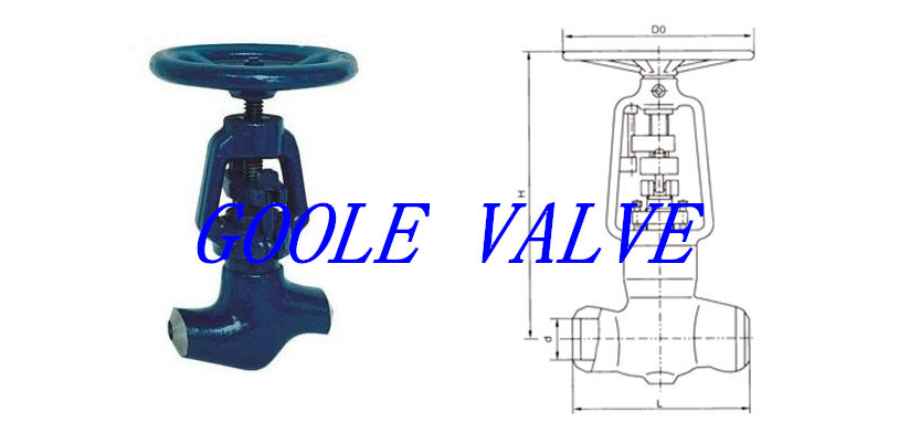 Pressure Seal Power Station Globe Valve (GAJ61Y)