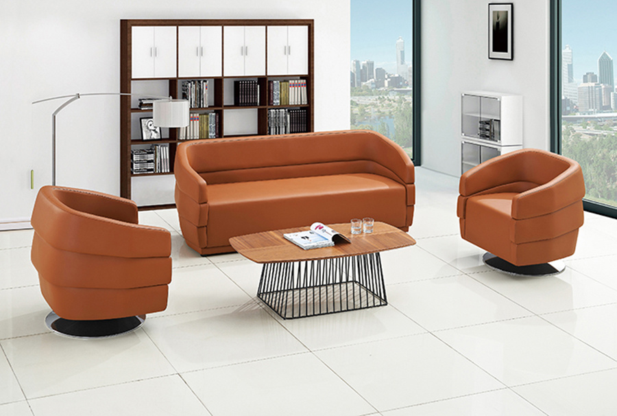 Pu Leather Sofa Leisure Bench
