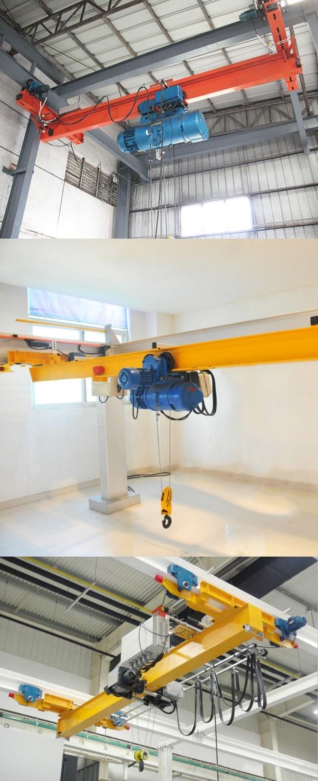 Lx Type Monorail Suspension Single Girder Overhead