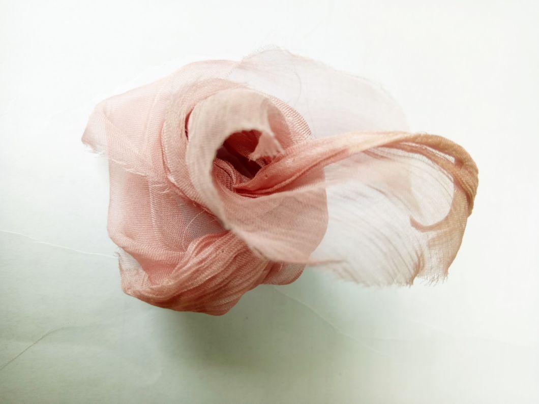 10mm Pure Twist Silk Chiffon Fabric for Dress/Garment