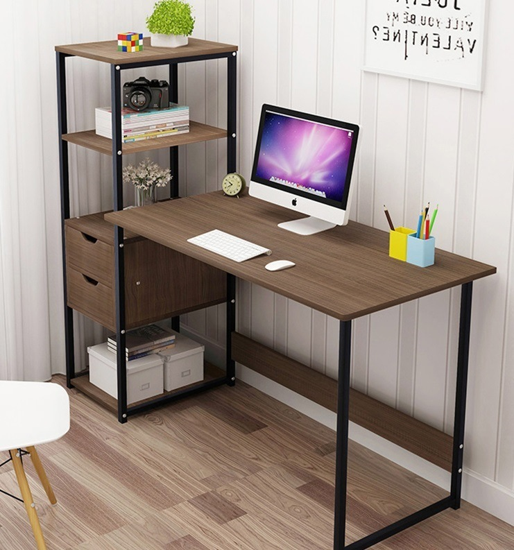 China Colorful Wooden Computer Desk For