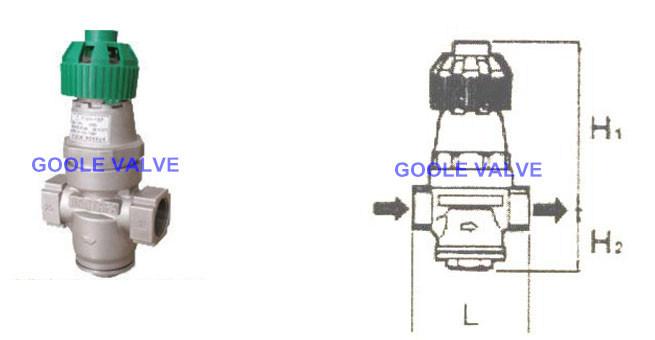 Steam&Water Pressure Reducing Valve (GAY14H/F)