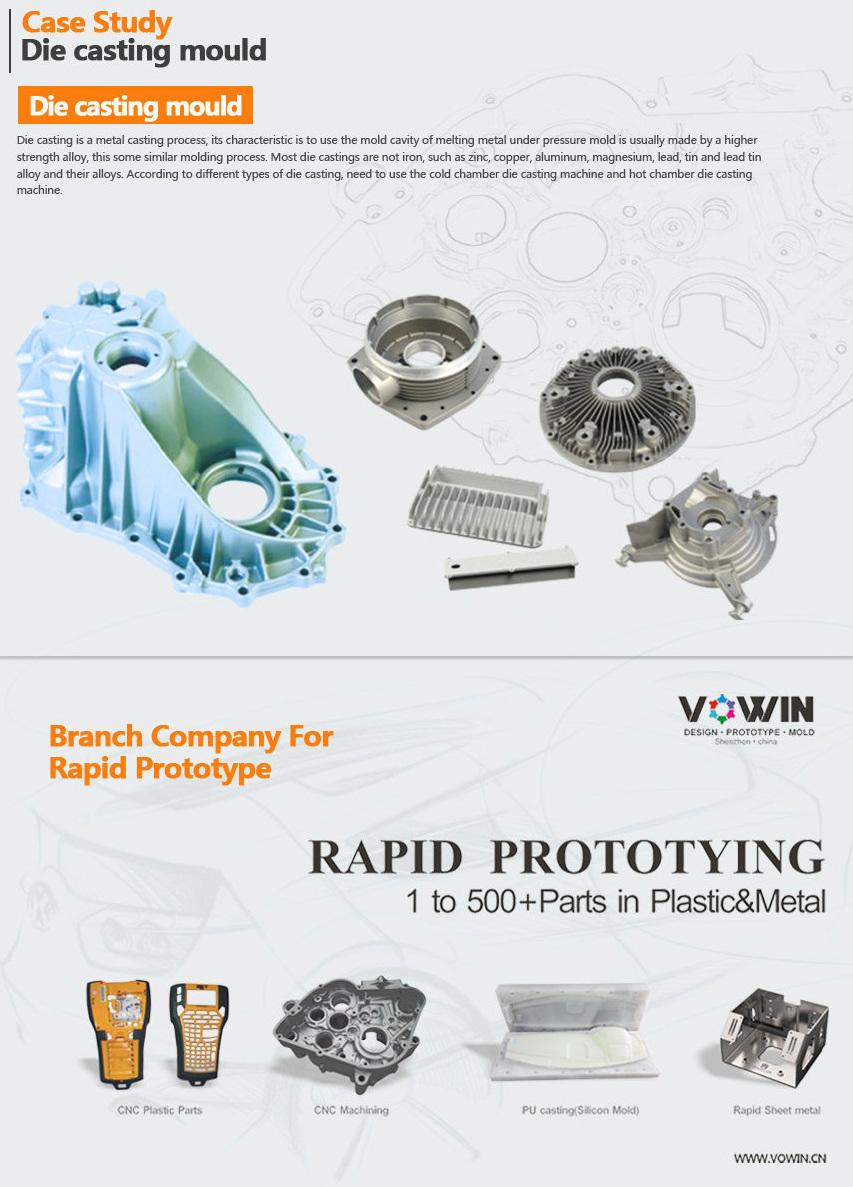 Custom High Precision Zinc/Magenesium/Aluminum Die Casting Parts