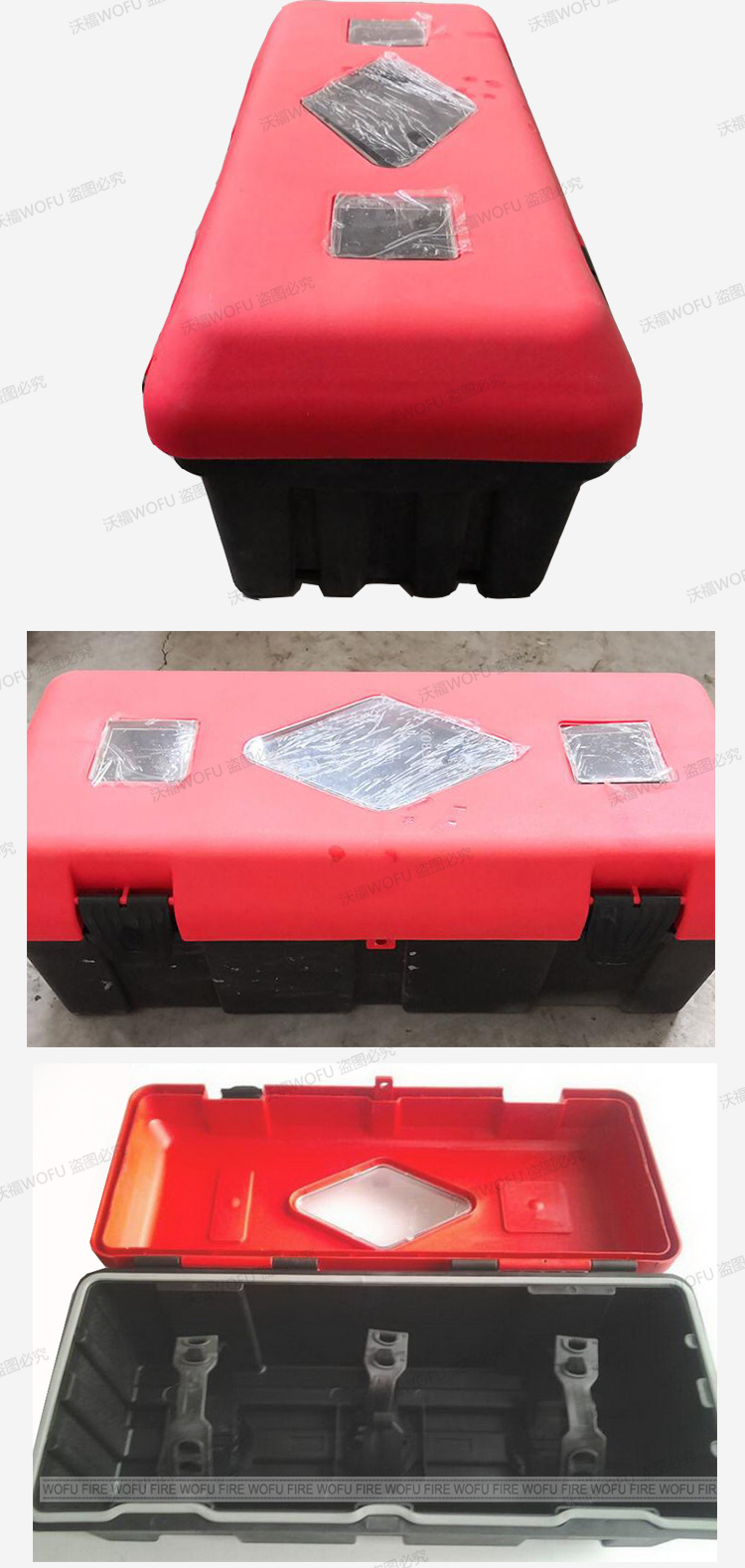 China Fire Resistant Plastic Extinguisher Cabinet China