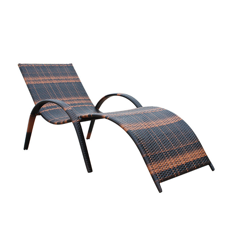 New All Weather European Outdoor Garden Lounger Sunbed Beach Chair