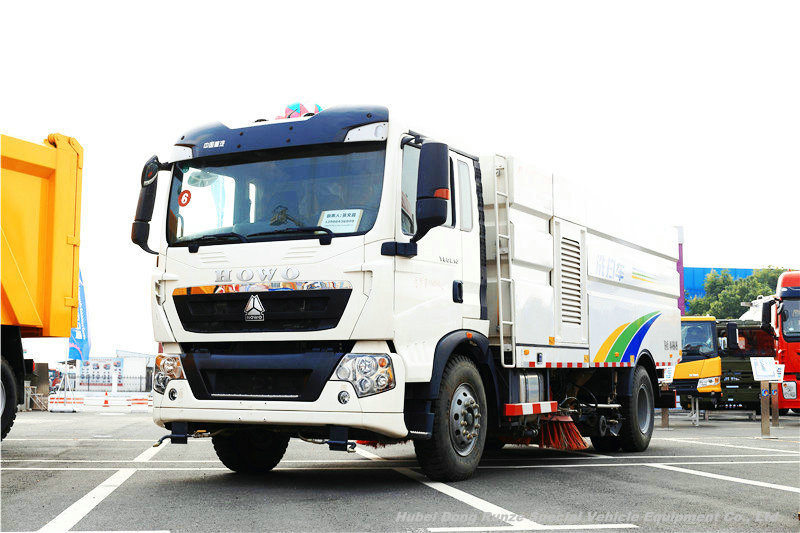 Sinotruk howo 4x2 road sweeper truck for sale-Sinotruk