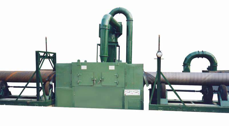 Hot Selling Steel Pipe Shot Blasting Machine, Used for Processing of Oil Drill Pipe