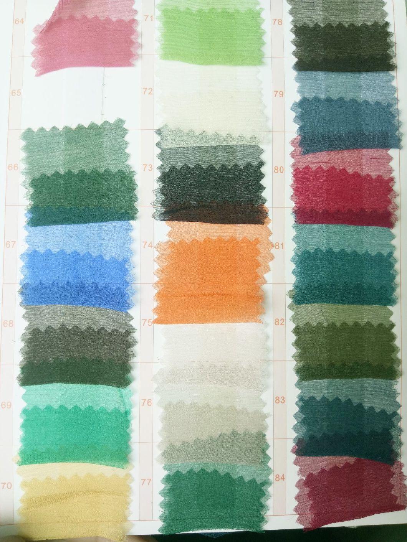 Twist Silk Chiffon Fabric for Dress/Wedding Cloth/Garment
