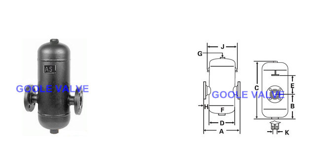 as Baffle Type Steam Separator