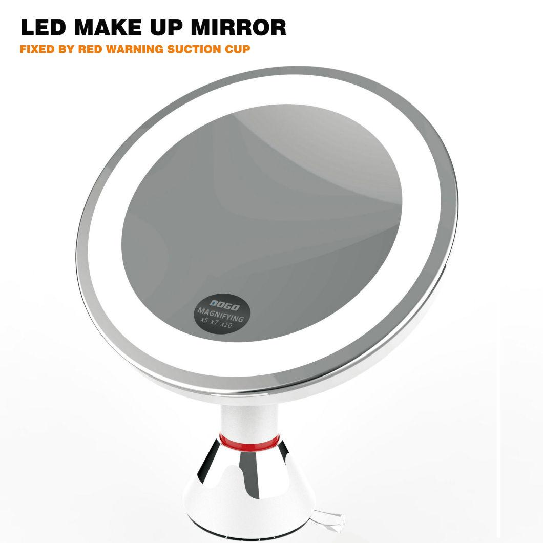 Makeup Mirror Bathroom Suction