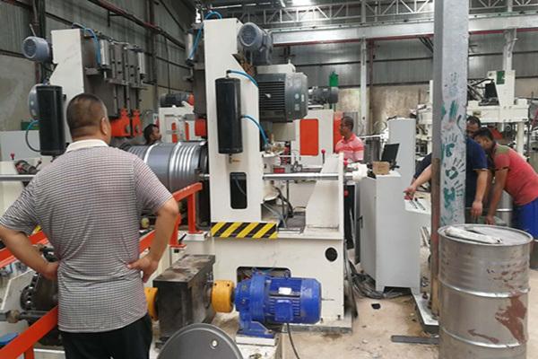 Steel Drum W-Beader& Corrugator Machine