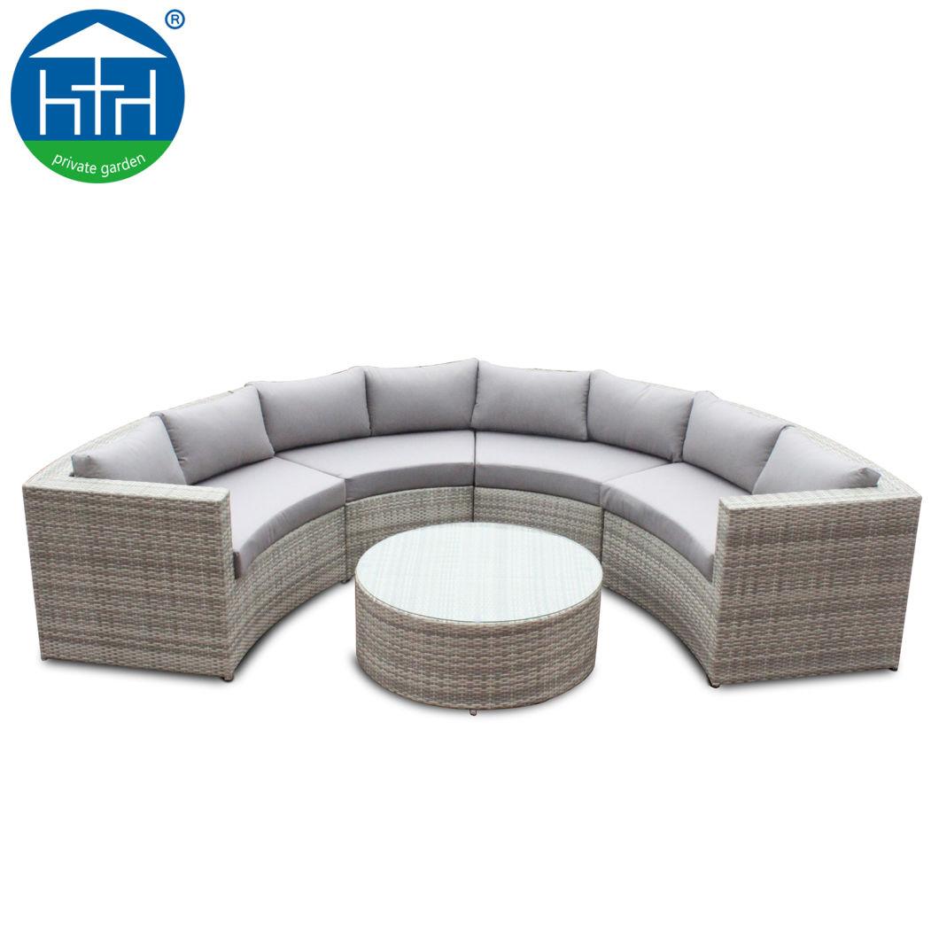 China Round Fan Shape Design Corner