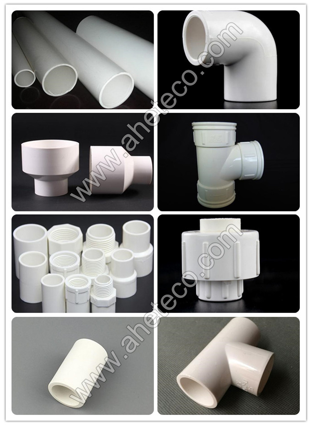 Sch40 ASTM 2466 PVC PPR Pipe Fitting 90 Degree Elbow